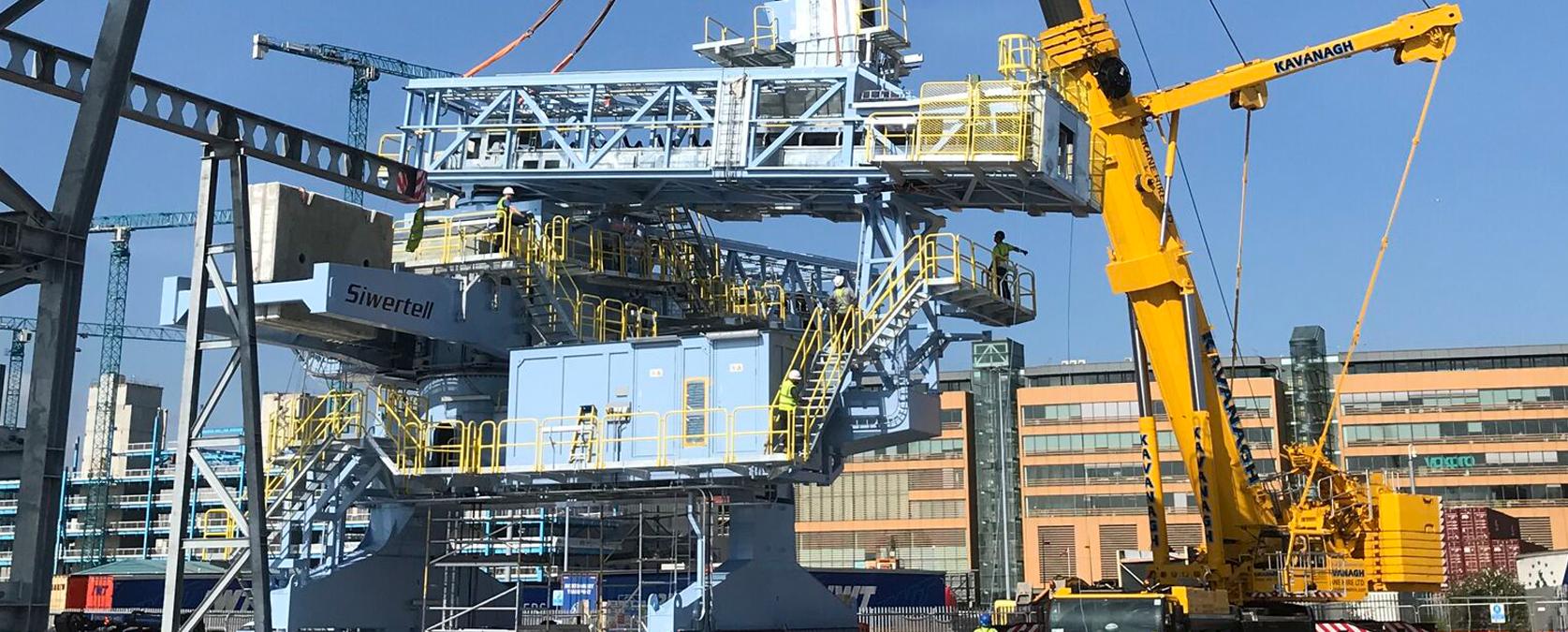 Image of Crane Installation